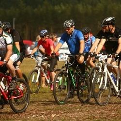 Cycling 45 km - Stefan Carlbom (5633), Bo Jacobson (5648), Andreas Skarland (5649), Marie Kleist (5713)