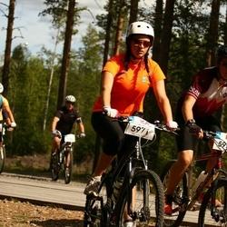 Cycling 45 km - Frida Berntling (5971), Lucas Norrman (5972)