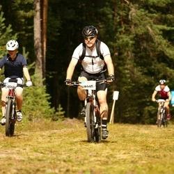 Cycling 45 km - Karl Kajsson (6069), Kaj Petersson (6165)