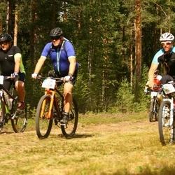 Cycling 45 km - Daniel Roos (6003), Christer Hallner (6206)