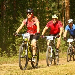 Cycling 45 km - Kerstin Nyströmer (6025), Hans Perströmer (6088), Anders Nyberg (6226)