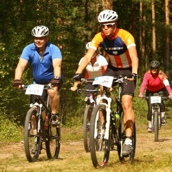 Cycling 45 km - Joakim Ramstedt (6220), Anders Nyberg (6226)