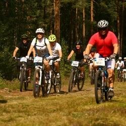 Cycling 45 km - Agne Bajoriniene (6099), Nils Mäenpää (6131)