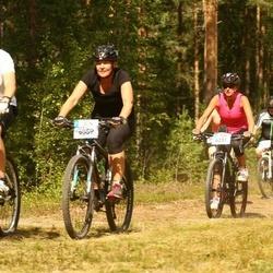 Cycling 45 km - Anneli Mälargård (6059), Liz Antonsson (6231)