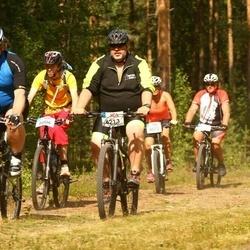 Cycling 45 km - Oskar Rydh (6006), Jan Eriksson (6213)