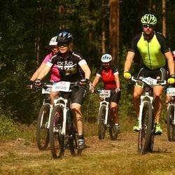 Cycling 45 km - Malin Hellström (6035), Jesper Schwamberg (6245)