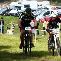 Cycling 45 km - Joakim Klasson (4162), Carolina Tellnor (4343)