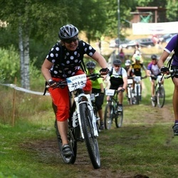 Cycling 45 km - Anna Anse (4213), Jeanette Harrsjö (4266)