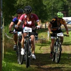 Cycling 45 km - Camilla Olsson (4290), Kari Alanen (4722)