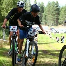 Cycling 45 km - Henrik Grenert (4691), Hannes Grenert (4692)