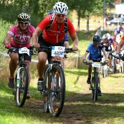 Cycling 45 km - Maria Björklund (4334), Margit Nilsson (4477)