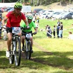 Cycling 45 km - Margit Nilsson (4477), Göran Forsberg (4880)
