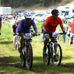 Cycling 45 km - Ida Junger (5078), Mattias Vestring (5151)