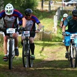 Cycling 45 km - Johan Lundqvist (4321), Thomas Hjert (4562)