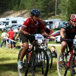 Cycling 45 km - Kerstin Lingqvist (4864), Stefan Bodin (5579)