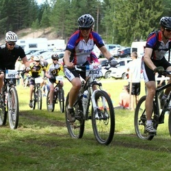 Jalgrattasport 45 km - Thomas Engdahl (4454), Svante Lundberg (4542), Maria Lundberg (4543)