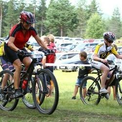 Cycling 45 km - Filip Kempe-Sjödin (5056), Susanne Adlerberth (5075)