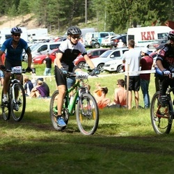 Cycling 45 km - Isac Andersson Broman (5047), William Levin (5434)