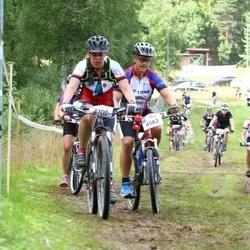 Cycling 45 km - Albin Bäckman (4563), Katarina Sahlqvist (4709)