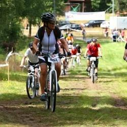 Cycling 45 km - Catherine Sallmander (4854), Lars-Börje Hed (5623)