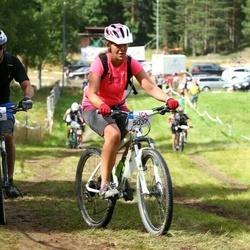 Cycling 45 km - Eleonor Bott (5037), Glen Bott (5038)