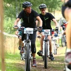 Jalgrattasport 45 km - Lena Celander (5128), Mathias Ångerud (5568)