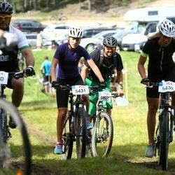 Jalgrattasport 45 km - Alva Wallin (5430), Hedda Martelleur (5431)