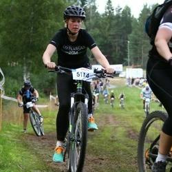 Cycling 45 km - Caroline Svensson (5114)