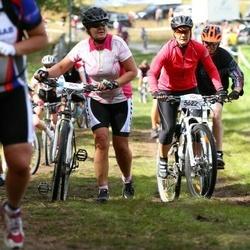 Cycling 45 km - Annelie Gunnarsson (5094), Katarina Palm (5622)