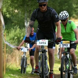 Cycling 45 km - Linus Brandt (5494), Staffan Janson (5772)