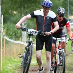 Cycling 45 km - Johan Åhlberg (5783), Lars Åke Henriksson (6428)