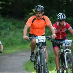 Cycling 94 km - Ingrid Nordin (9589), Erik Rydberg (9590)