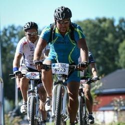 Cycling 94 km - Reijo Iso-Kallio (6723), Fredrik Pommer Adler (8228)