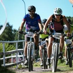 Cycling 94 km - Fredrik Grahn (6093), Anna Lundvall (8060)