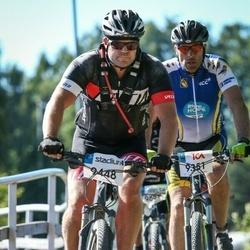 Cycling 94 km - Daniel Rällsjö (9351), Patrik Andersson (9448)