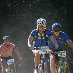 Cycling 94 km - Hillevi Samuelsson (8176), Erik Klanga (9320)