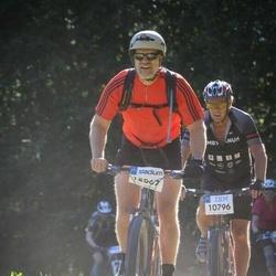 Cycling 94 km - Christer Backman (10796), Krister Thour (12567)