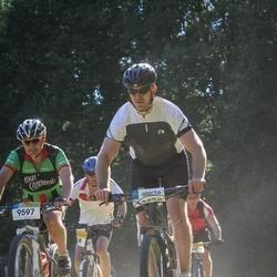 Cycling 94 km - Christoffer Bondéus (9597), Peter Lindbäck (13292)