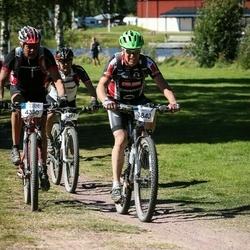 Cycling 94 km - Christer Dahlin (3840), Dag Ljungwe (4380), Göran Ekdahl (4391)