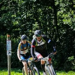 Cycling 94 km - Henrik Hjelte (420), Peter Sjögren (827)