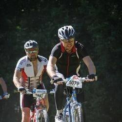 Cycling 94 km - Dennis Blom (5079), Stefan Johansson (6610)