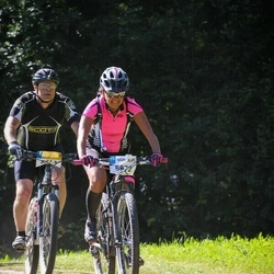 Cycling 94 km - Ulrika Krona (5872), Henrik Mårsén (6213)