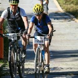 Cycling 94 km - Peter Eriksson (12081), Elisbeth Bjurströmer (12088)