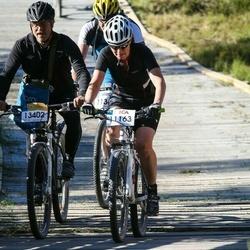 Cycling 94 km - Lilli-Ann Lundgren (11163), Carl Johan Elmersson (13402)