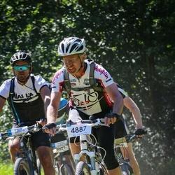 Cycling 94 km - Anders Lundqvist (4730), Lars Blom (4887)