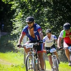 Cycling 94 km - Hilde Skogli (4438), Carl Axelsson (4454)