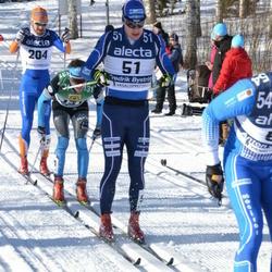 Skiing 90 km - Fredrik Byström (51), Björn Thomas Nygaard (204)