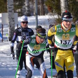 Skiing 90 km - Adam Steen (86), Stein Joks (125), Simone Bosin (137)