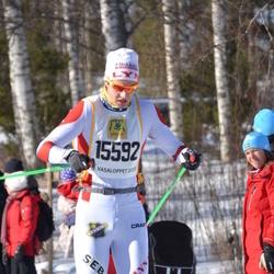 Skiing 90 km - Henrik Bakke (15592)