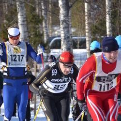 Skiing 90 km - Teemu Virtanen (99), Erik Viklund (1217)